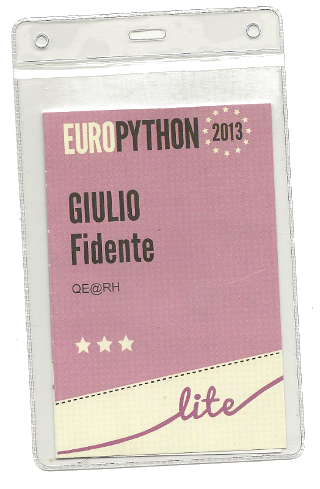 EuroPython Ticket